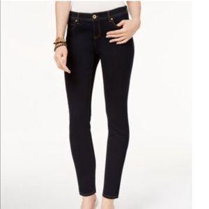 NWT INC Skinny Leg Dark Wash Regular Fit 10 Petite